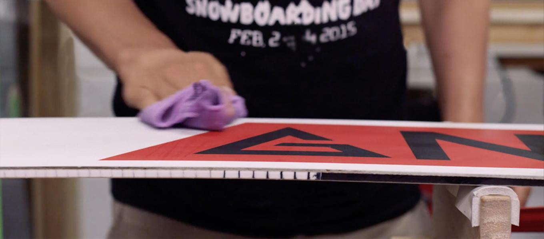 Как обрабатывать скользяк сноуборда