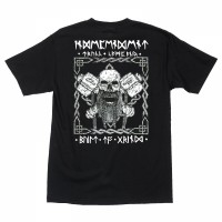 Футболка INDEPENDENT Haslam Norseman Regular S/S T-Shirt Black