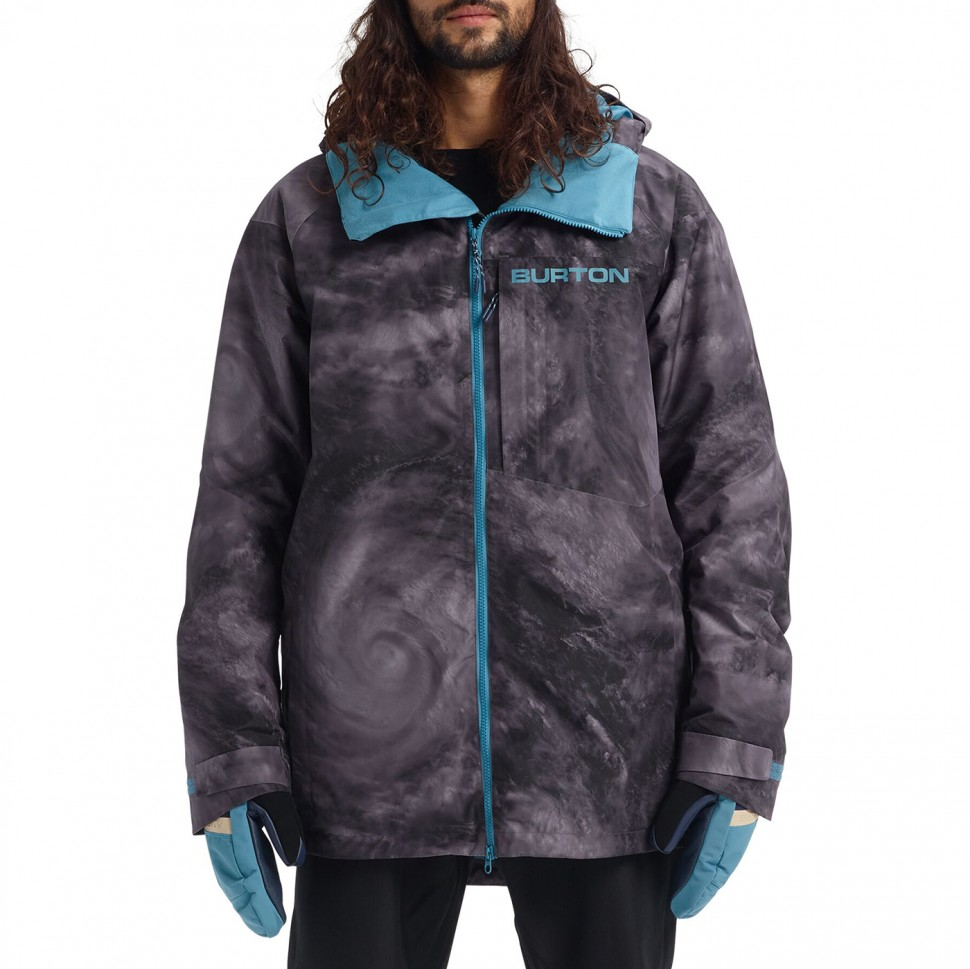 Куртка для сноуборда мужская BURTON M Gore-Tex Radial Jacket Slm Low Pressure 2020 фото