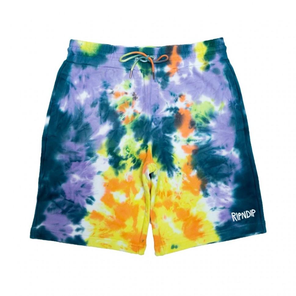 Шорты RIPNDIP Peek A Nerm Tie Dye Shorts Multi 2020