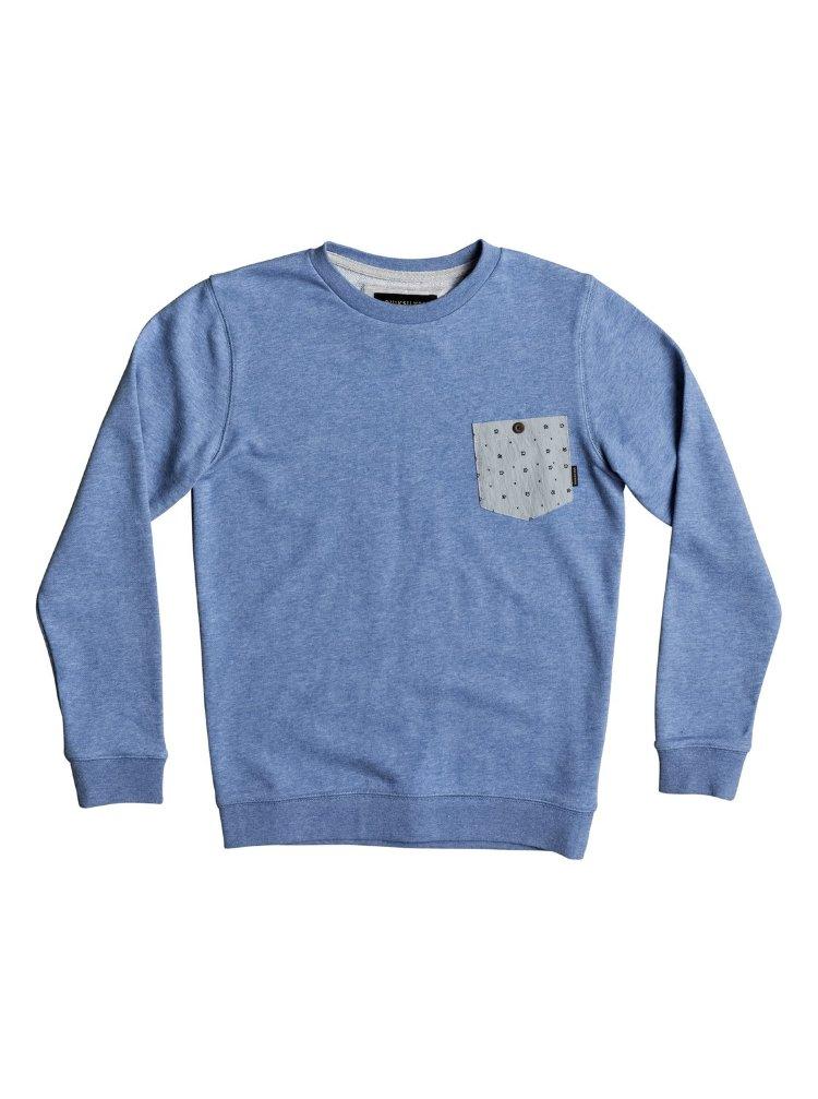 Купить Джемпер для мальчиков-подростков QUIKSILVER Calgara Youth B Bright Cobalt, Китай