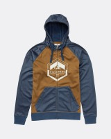 Толстовка на молнии BILLABONG Downhill Zip Hoodie Dark Denim