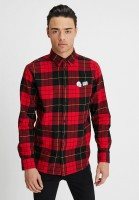 Рубашка CHEAP MONDAY Fit Shirt Red Tartan Scarlet Red