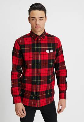 11728c830a1 Рубашка CHEAP MONDAY Fit Shirt Red Tartan Scarlet Red