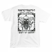 Футболка INDEPENDENT Haslam Norseman Regular S/S T-Shirt White