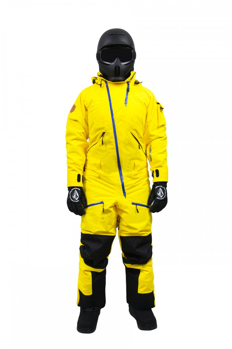Купить Комбинезон мужской COOL ZONE Kite One Color Желтый, Россия