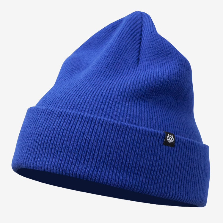 Шапка 686 Standard Roll Up Beanie Strata Blue, фото 1