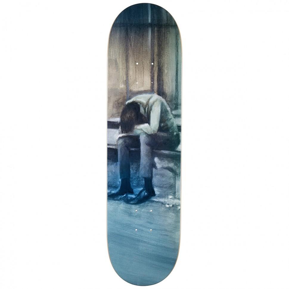 Дека для скейтборда DEATHWISH It Never Ends Deck  8.25 дюйм