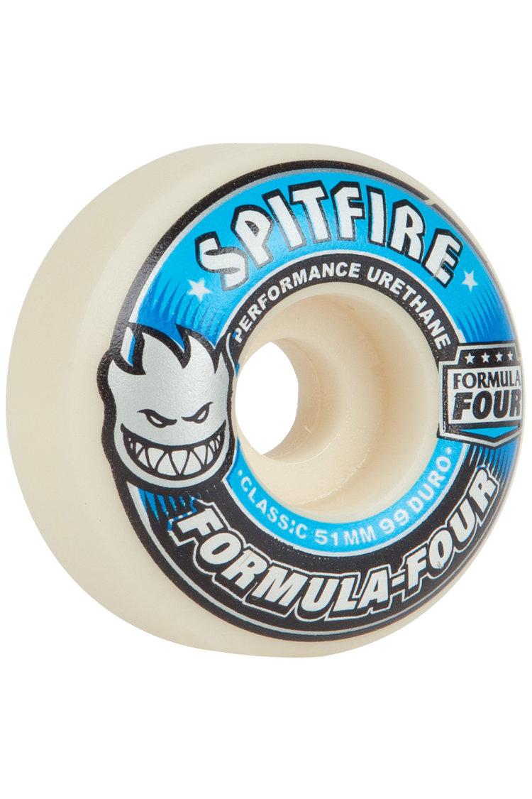 Купить Колеса для скейтборда SPITFIRE Whl F4 Classic Blue 50 mm, Сша