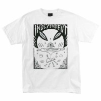Футболка INDEPENDENT Hitz Ritual Decomissioning Regular S/S T-Shirt White