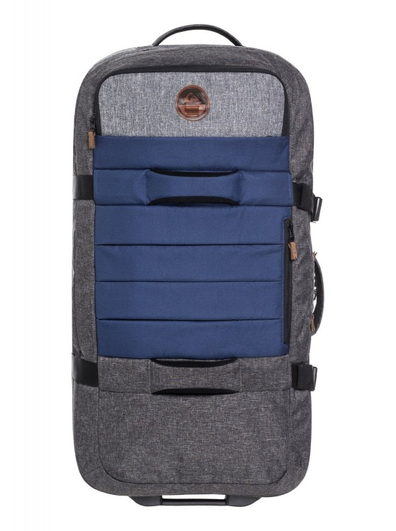 Чемодан QUIKSILVER New Reach M Medieval Blue Heather, фото 1