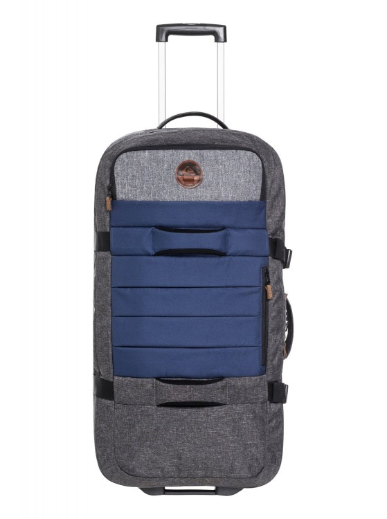 Чемодан QUIKSILVER New Reach M Medieval Blue Heather, фото 2