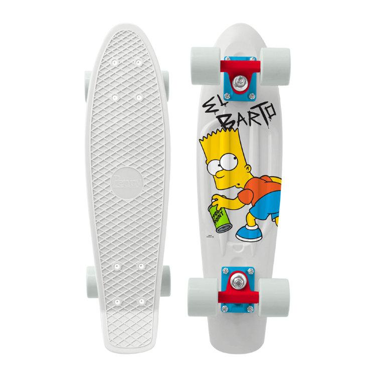 Купить Комплект Лонгборд PENNY Simpsons 22 Ltd EL BARTO BART, Китай