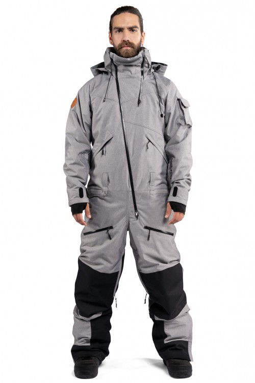 80f65056e422e Комбинезон мужской COOL ZONE Kite One Color Серый Меланж — купить в ...
