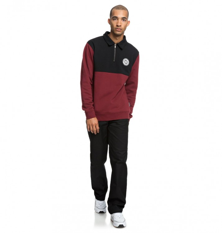 Джемпер-поло DC SHOES Dellwood Polo M Cabernet, фото 4