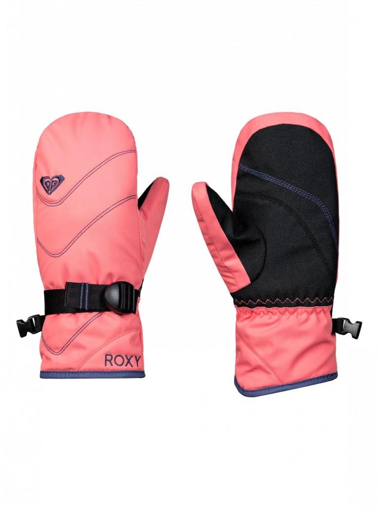 Купить Варежки ROXY Jett Sol Gi Mit G Shell Pink, Вьетнам