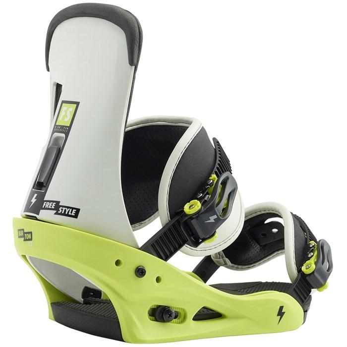 Купить Крепления для сноуборда мужские BURTON Freestyle Mtn Dude Green, Китай