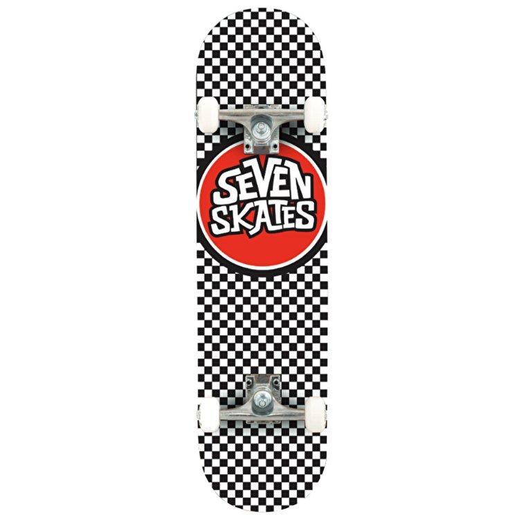 Купить Комплект Скейтборд SEVEN Checkered, Китай