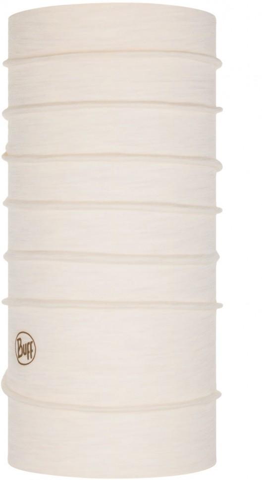 Бандана BUFF Lightweight Merino Wool Solid Snow фото