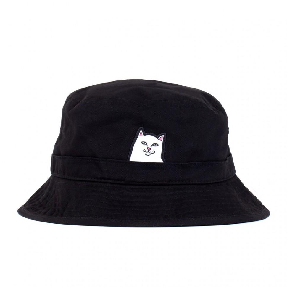 Панама RIPNDIP Lord Nermal Bucket Hat Black