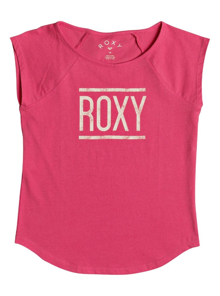 Купить Футболка для девочек-подростков ROXY Heaven'Saheartb G Rouge Red, Индия