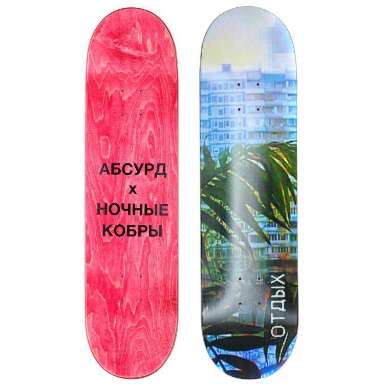 Купить Дека для скейтборда Absurd Х Ночные кобры ABSNOK, Китай