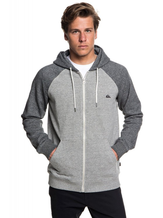 Кардиган QUIKSILVER Everydayzip M Light Grey Heather, фото 1