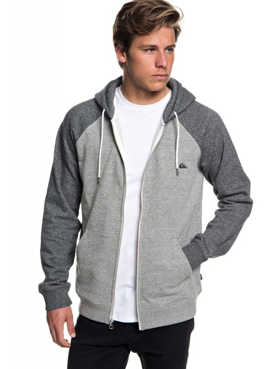 Кардиган QUIKSILVER Everydayzip M Light Grey Heather, фото 2