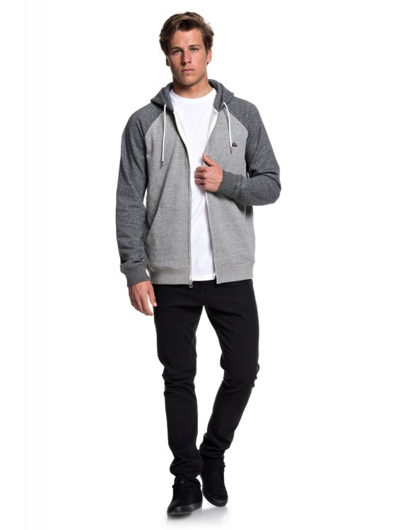 Кардиган QUIKSILVER Everydayzip M Light Grey Heather, фото 3