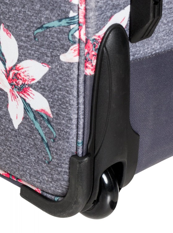 Чемодан ROXY Long Haul 2 J Charcoal Heather Flower Field, фото 5