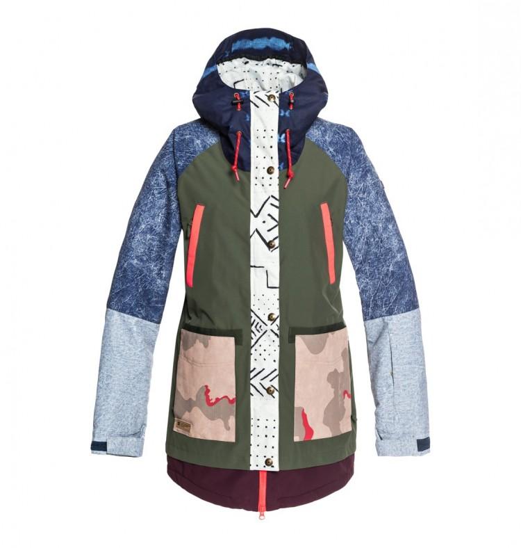 Купить Куртка для сноуборда женская DC SHOES Riji Se Jkt J Multi Repurpose Ri, Китай