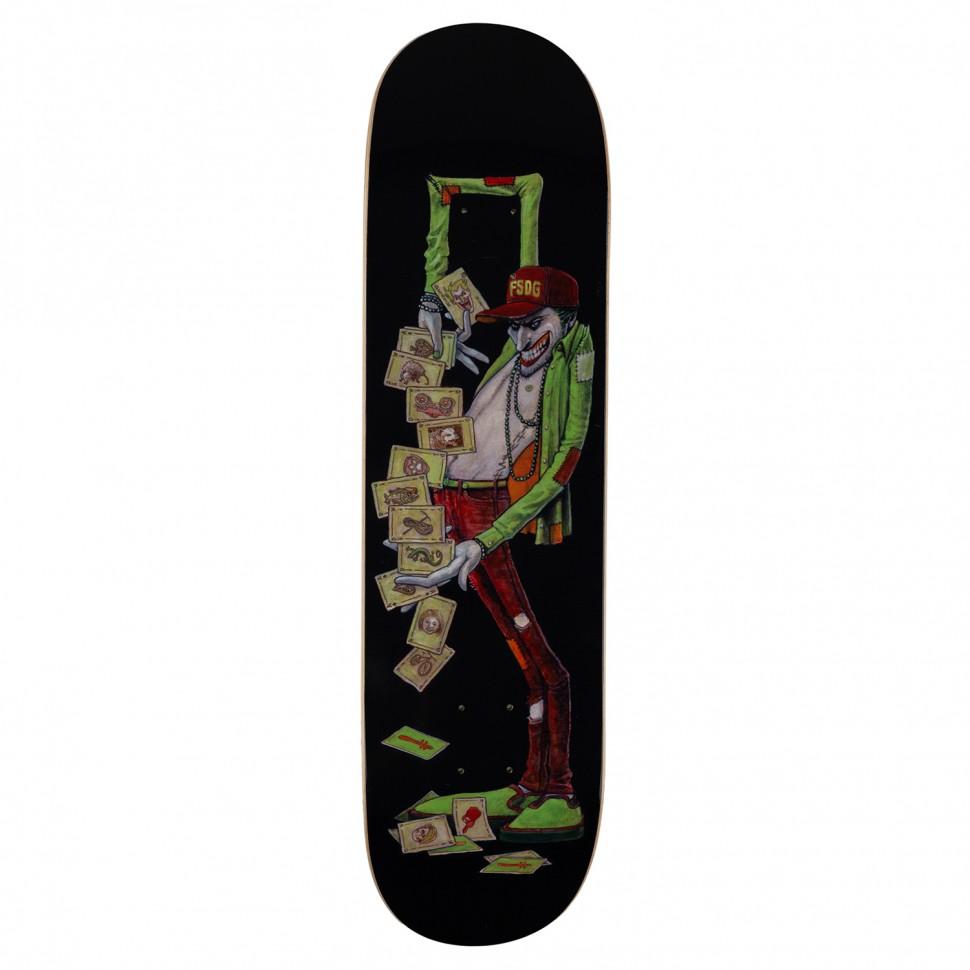 Дека для скейтборда DEATHWISH Lk Jester Deck  8.25 дюйм