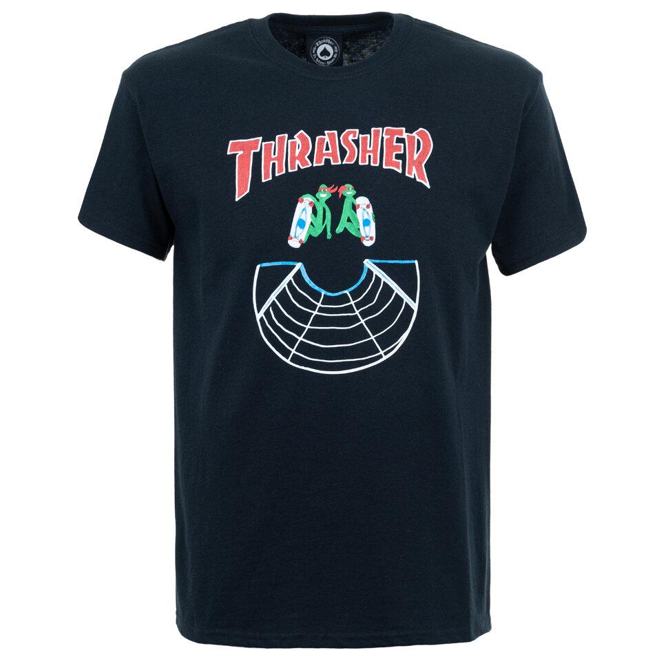 Футболка THRASHER Doubles S/S Black 2020 фото