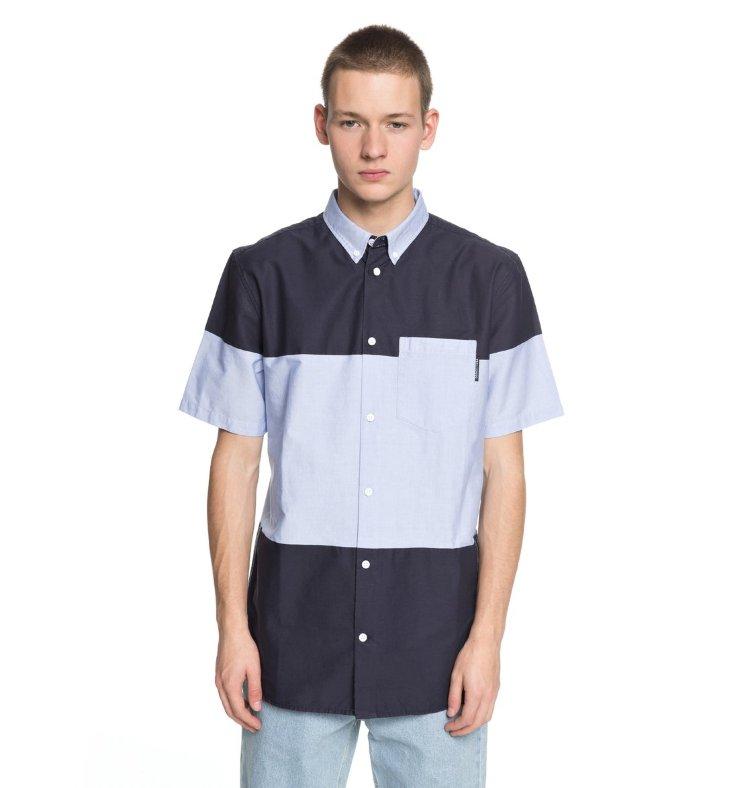 Купить Рубашка мужская DC SHOES Howburn M Light Blue, Индия
