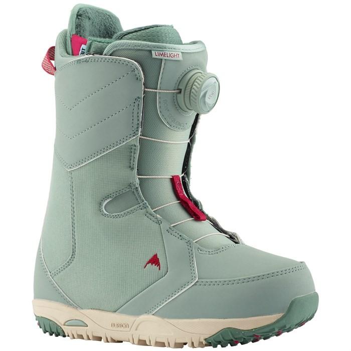 Ботинки для сноуборда женские BURTON Limelight Boa Sage, Китай  - купить со скидкой