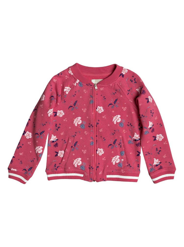 Купить Кардиган для девочек ROXY Lovespace K Rouge Red Tropicool, Китай