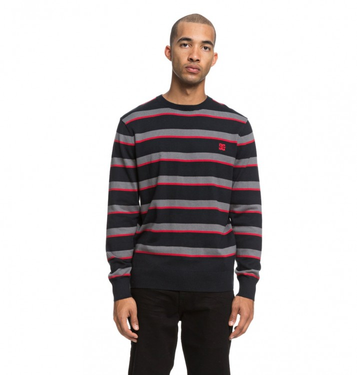 Джемпер DC SHOES Sabotage Stripe M Black, фото 1