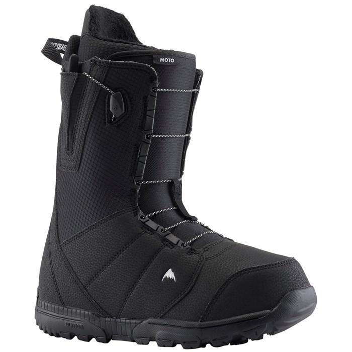 Купить Ботинки для сноуборда мужские BURTON Moto Black, Китай