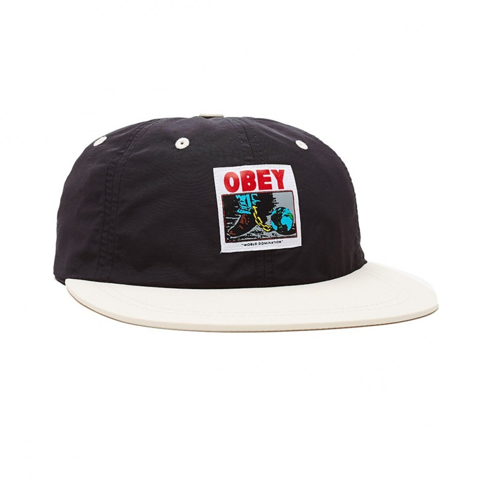 Шестипанельная кепка OBEY Inconvenient 6 Panel Strapback Black Multi 2020 фото