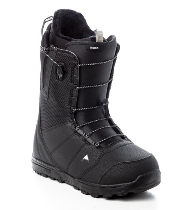 Ботинки для сноуборда мужские Burton Moto Black