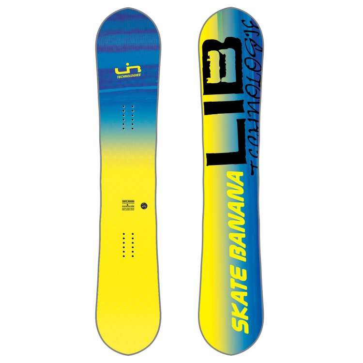 Сноуборд LIB TECH Sk8 Banana Btx Yellow, фото 1