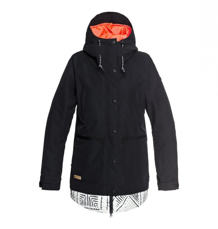 Купить Куртка для сноуборда женская DC SHOES Riji Jkt J Black, Китай