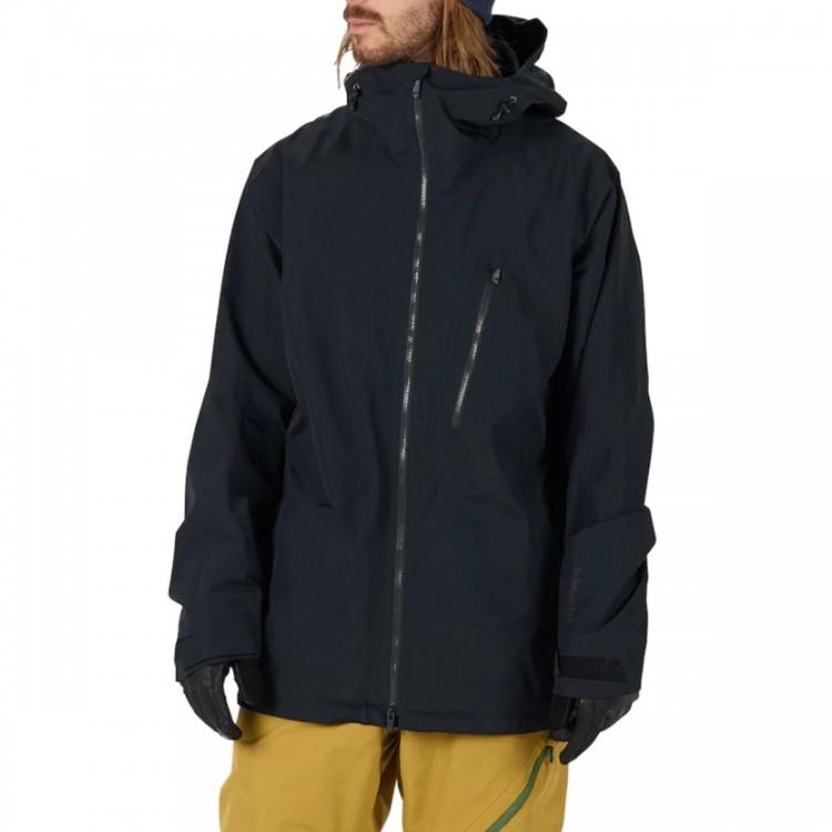 Купить Куртка для сноуборда мужская BURTON M Ak Gore-Tex Cyclic Jacket True Black, Вьетнам