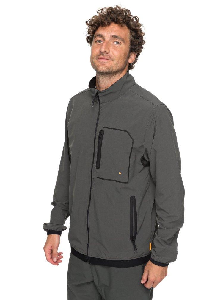 Купить Куртка мужская QUIKSILVER Paddlejacket M Dark Shadow, Индонезия