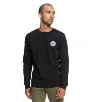 Джемпер DC SHOES Rebel Crew M Black