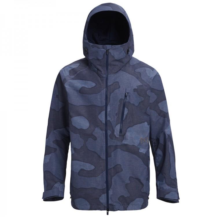 Купить Куртка для сноуборда мужская BURTON M Ak Gore-Tex Cyclic Jacket Arctic Camo, Вьетнам