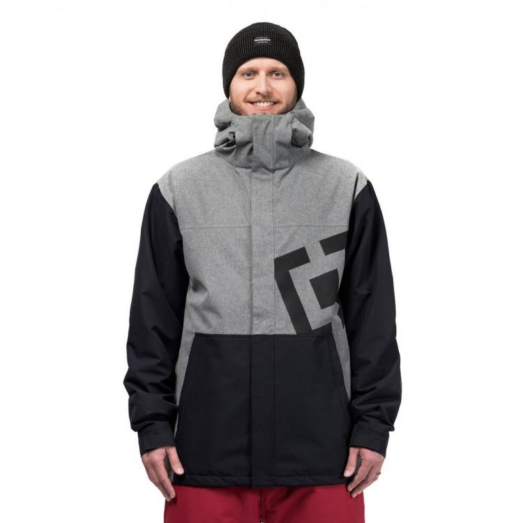 Купить Куртка для сноуборда мужская HORSEFEATHERS M Falcon Jacket Gray Melange