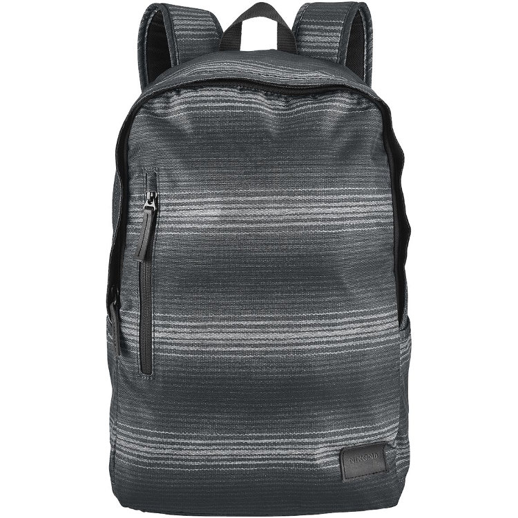 Купить Рюкзак NIXON Smith Backpack Se A/S Black/Gray/Pop Stripe, Китай