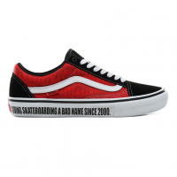 Кеды VANS Mn Old Skool Pro Baker Black/White/Red