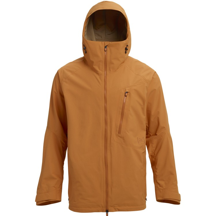 Купить Куртка для сноуборда мужская BURTON M Ak Gore-Tex Cyclic Jacket Golden Oak, Вьетнам